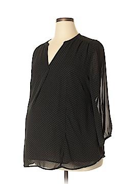 H&M Mama Long Sleeve Blouse Size XL (Maternity)