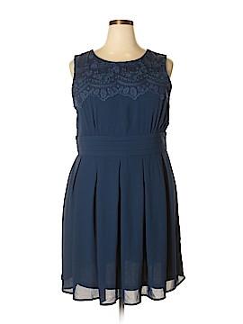 Esley Casual Dress Size 1X (Plus)