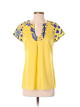 Beth Bowley Short Sleeve Blouse Size 4
