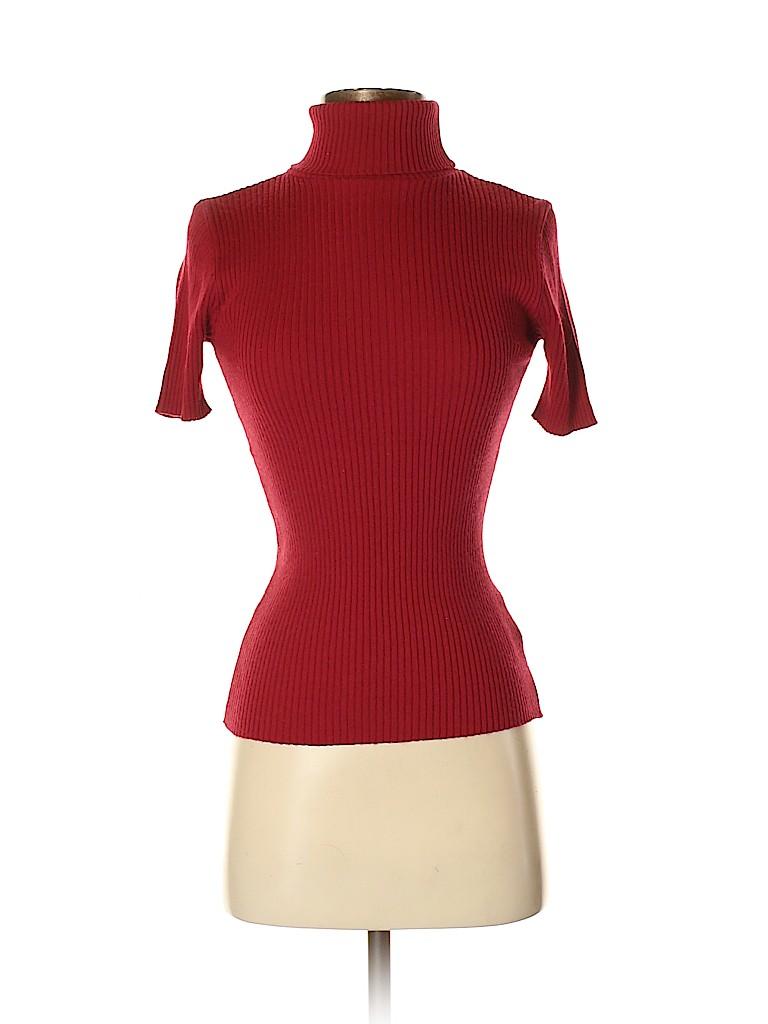 ea4fb39f08 Kookai Solid Red Turtleneck Sweater Size Sm (1) - 83% off