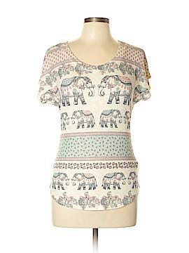 Sage Short Sleeve Blouse Size L