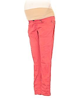 Lilac Maternity Jeans Size XS (Maternity)