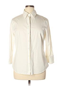 Ann Taylor 3/4 Sleeve Button-Down Shirt Size 16