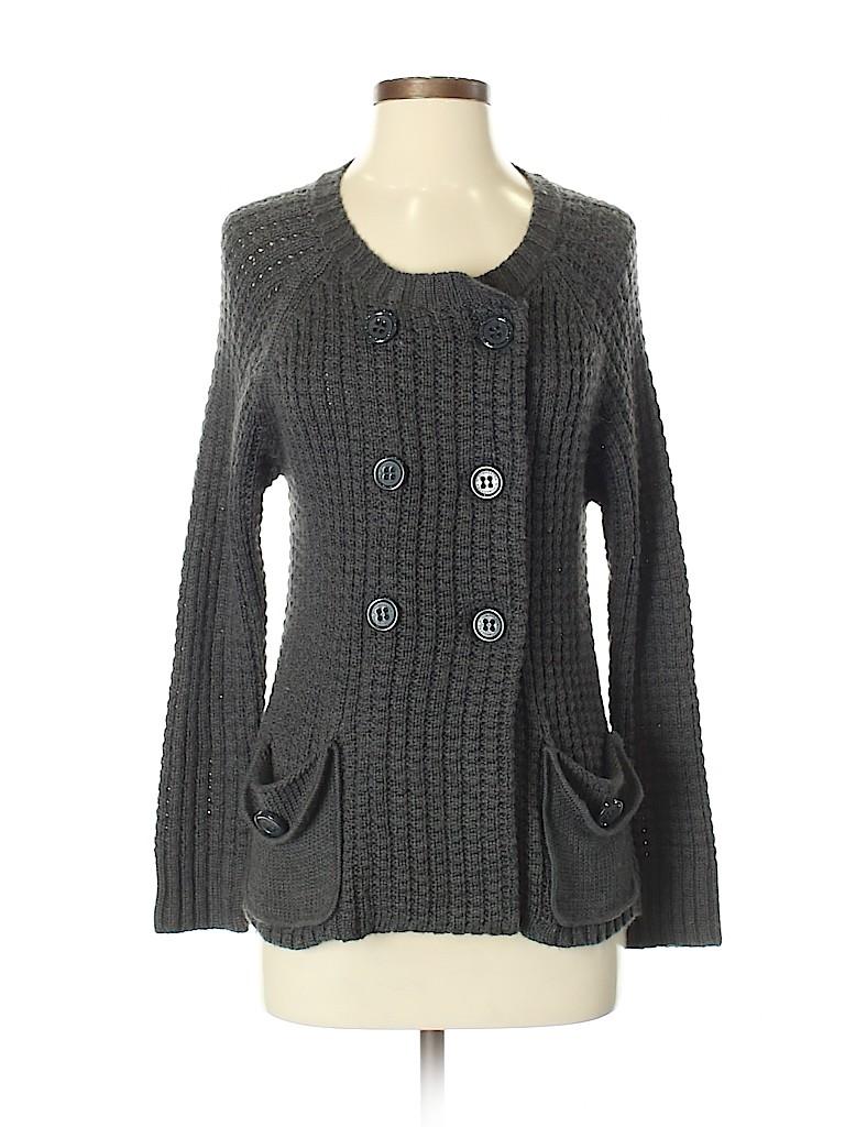 BCBGMAXAZRIA Women Wool Cardigan Size S