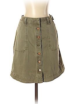 Pilcro and The Letterpress Denim Skirt Size 0