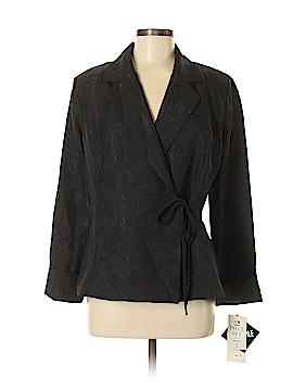 Karin Stevens Long Sleeve Blouse Size 8