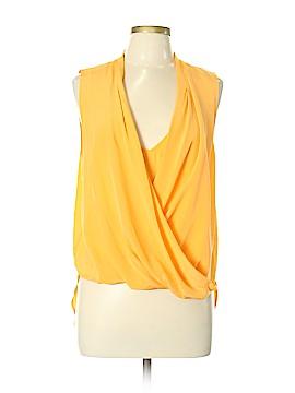 Trina Turk Sleeveless Silk Top Size L