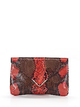 Elaine Turner Leather Clutch One Size