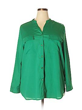 Anthony Richards Long Sleeve Blouse Size 20 (Plus)