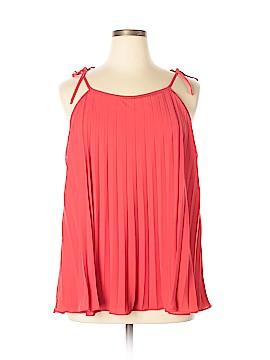 INC International Concepts Sleeveless Blouse Size 16