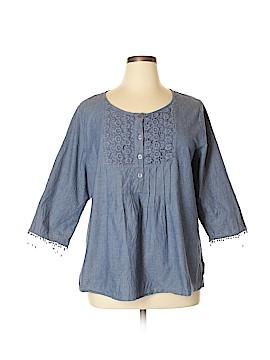 Cathy Daniels Long Sleeve Blouse Size XL