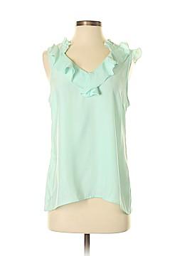 Britt Ryan Short Sleeve Blouse Size S
