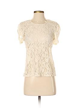 Aqua Short Sleeve Top Size S