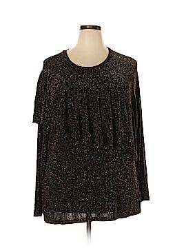 Michael Lauren Long Sleeve Top Size 3X (Plus)