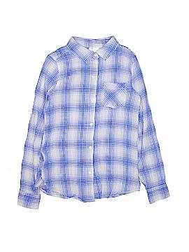 Japna Kids Long Sleeve Button-Down Shirt Size 12