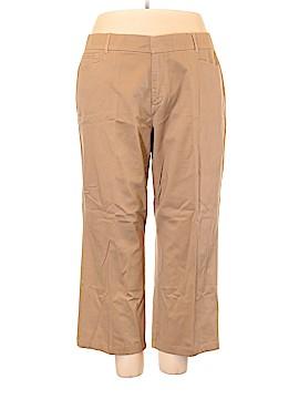 JM Collection Khakis Size 22 (Plus)