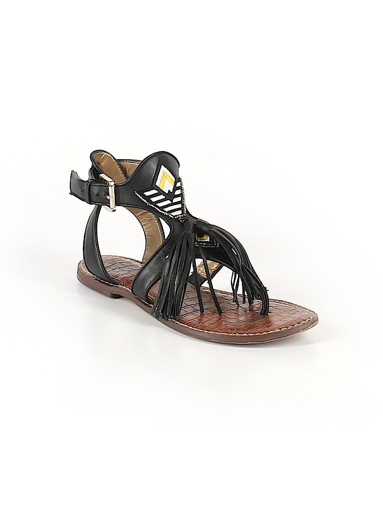 40b8b684f686a Sam Edelman Solid Black Sandals Size 7 - 67% off