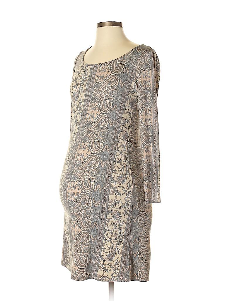 Lilac Women Casual Dress Size XS (Maternity)