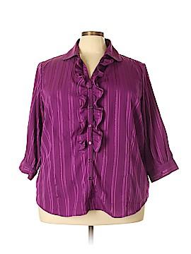 Joanna Plus 3/4 Sleeve Blouse Size 3X (Plus)