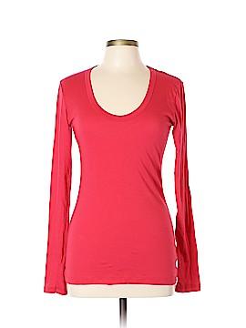 Velvet Long Sleeve T-Shirt Size L
