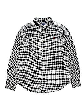 Ralph Lauren Long Sleeve Button-Down Shirt Size 18/20