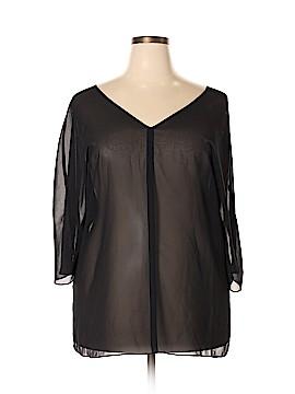 Venezia 3/4 Sleeve Blouse Size 18-20 Plus (Plus)