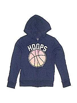 Justice Zip Up Hoodie Size 10
