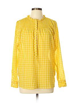 J. Crew Long Sleeve Blouse Size 12