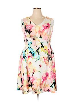 Worthington Casual Dress Size 18 (Plus)