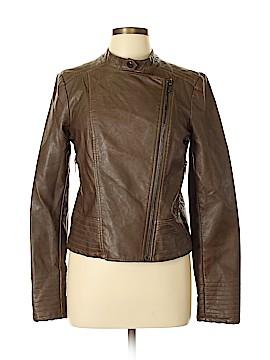 BB Dakota Faux Leather Jacket Size L