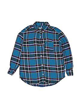 Nike Long Sleeve Button-Down Shirt Size 8