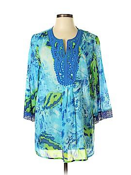 Jones New York 3/4 Sleeve Blouse Size L