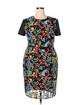New York & Company Casual Dress Size 20 (Plus)