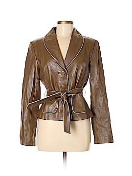 Mac & Jac Leather Jacket Size 8