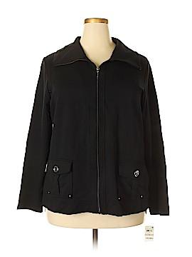 Karen Scott Sport Jacket Size 1X (Plus)