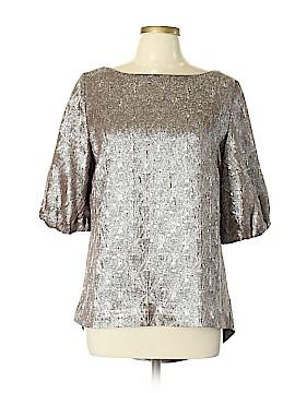 Ports 1961 3/4 Sleeve Silk Top Size 14