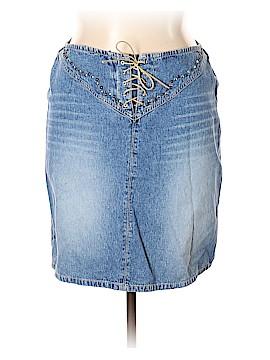 L.A. Blues Denim Skirt Size 14