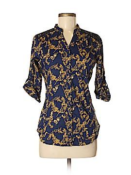 Southpole Long Sleeve Button-Down Shirt Size M