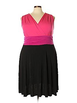 Fashion Bug Casual Dress Size 2X (Plus)