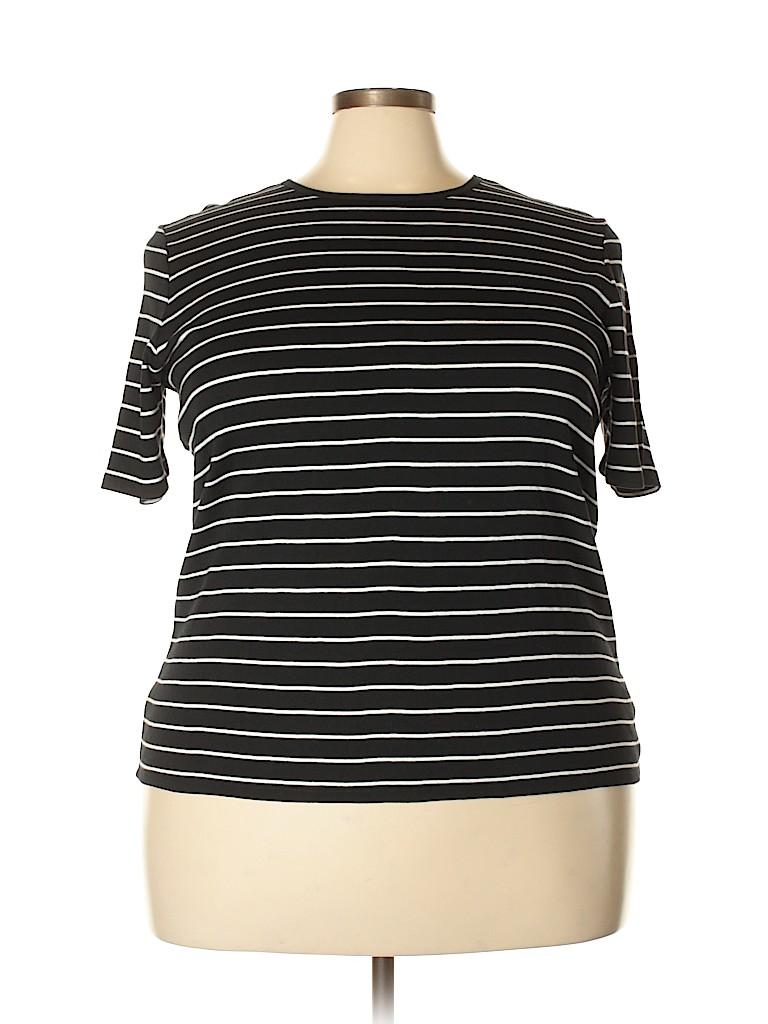Ralph Lauren Women Short Sleeve T-Shirt Size 2X (Plus)