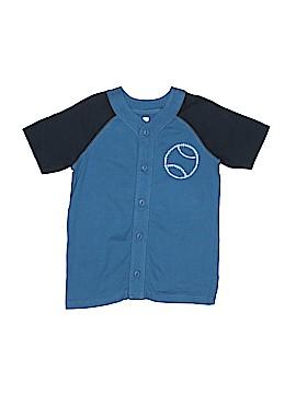 Tea Short Sleeve Button-Down Shirt Size 8