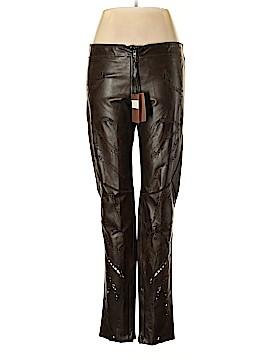 Roberto Cavalli Leather Pants Size 54