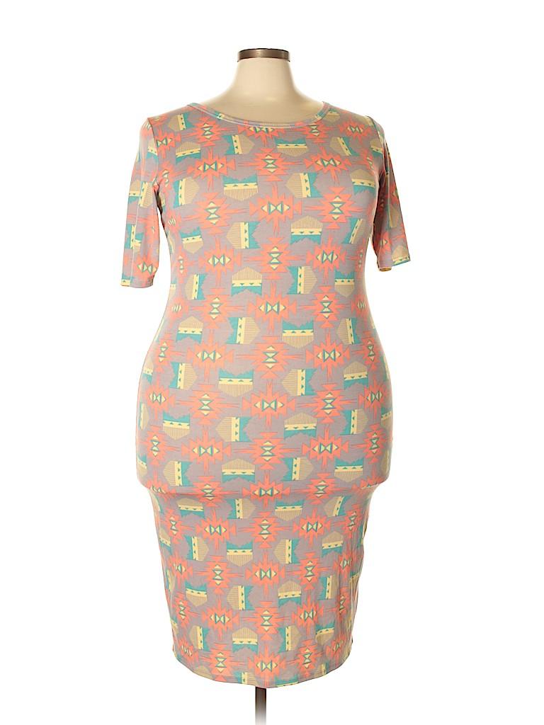 Lularoe Women Casual Dress Size 2X (Plus)