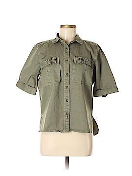 J. Crew Short Sleeve Button-Down Shirt Size 8 (Tall)