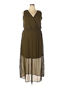 Bailey Blue Casual Dress Size 1X (Plus)