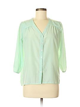 Francesca's 3/4 Sleeve Blouse Size M