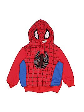 Marvel Zip Up Hoodie Size 3