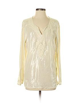 Life Style Long Sleeve Blouse Size M