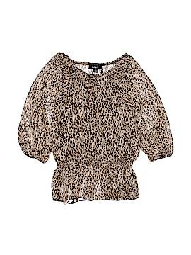 BCX Girl 3/4 Sleeve Blouse Size M (Youth)