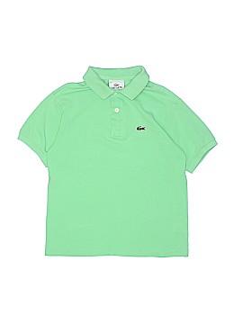 Lacoste Short Sleeve Polo Size 10
